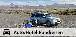 Auto/Hotel-Rundreisen